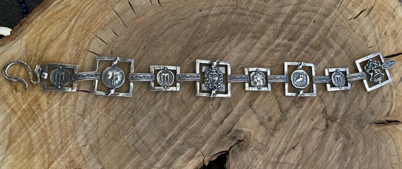 bracciale-romeo-alla-schiava-argento-con-maschere-mod-5152